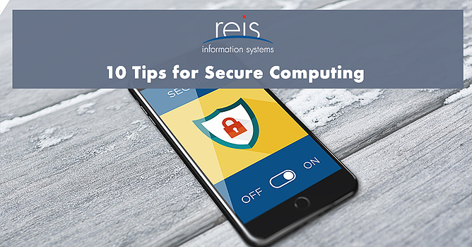 10 tips for secure computing