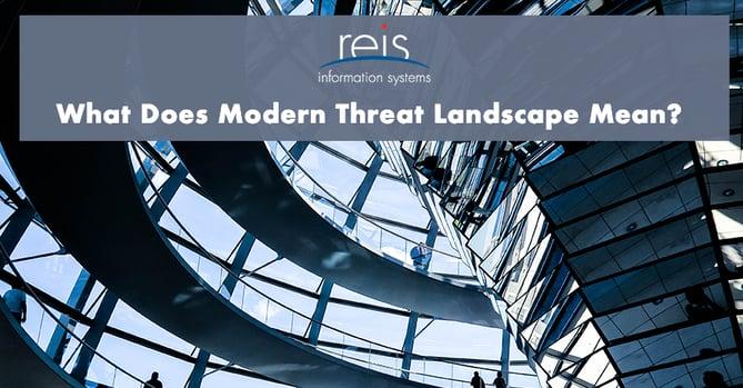 modern threat landscape